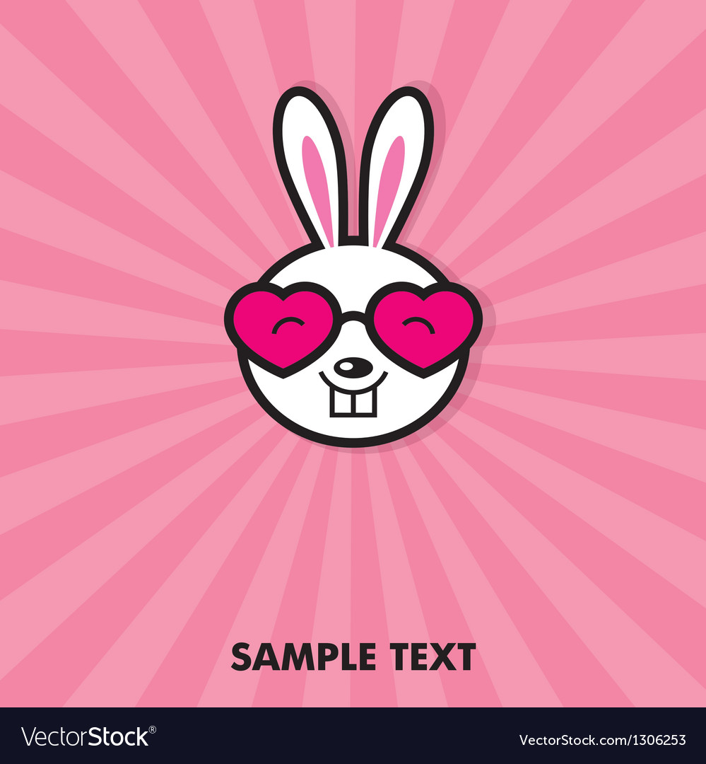 Funny bunny vector | Price: 1 Credit (USD $1)