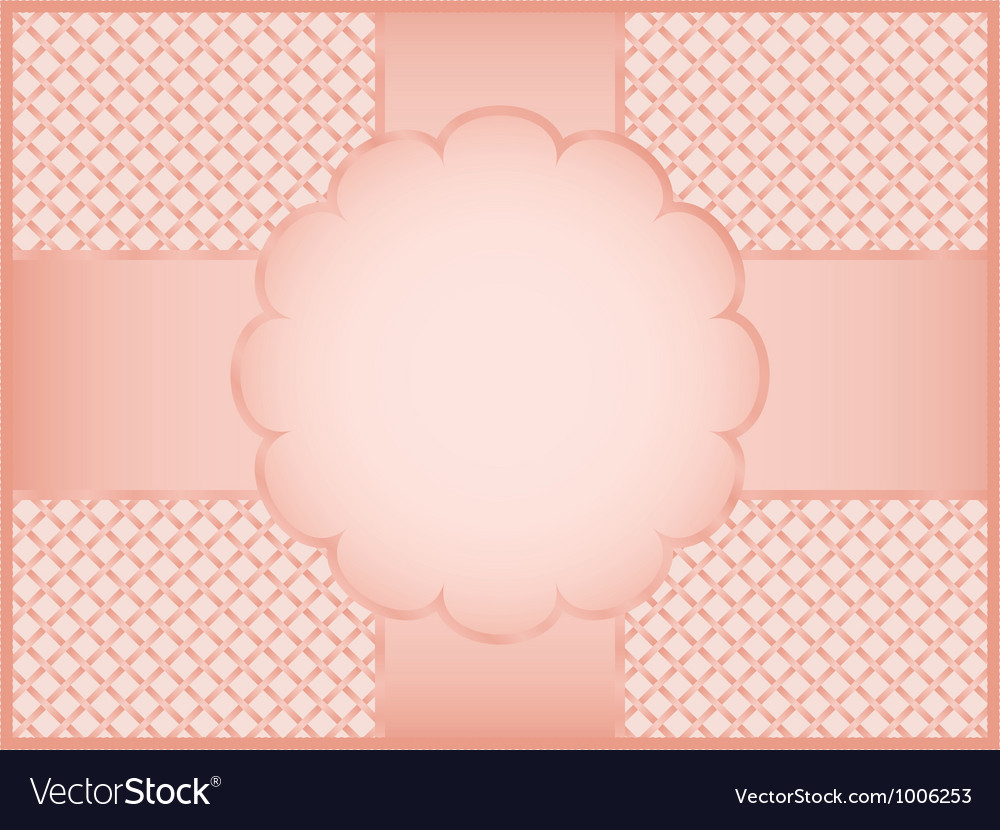 Pink gift wrapper vector | Price: 1 Credit (USD $1)