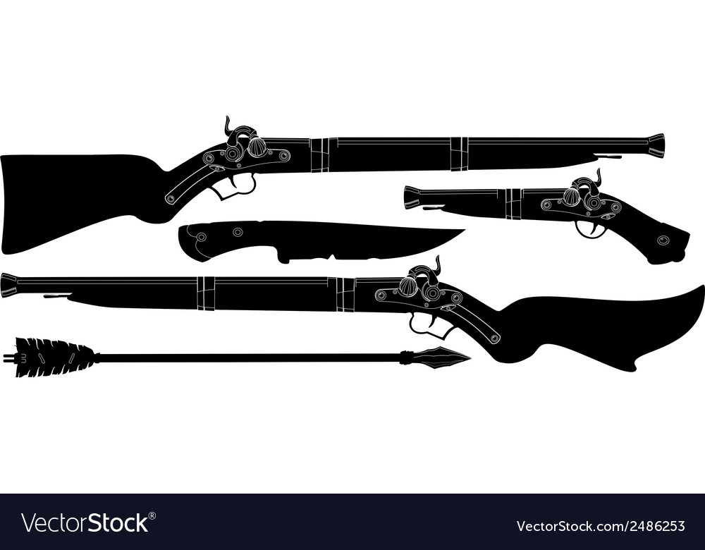 Set of ancient weapons vector | Price: 1 Credit (USD $1)