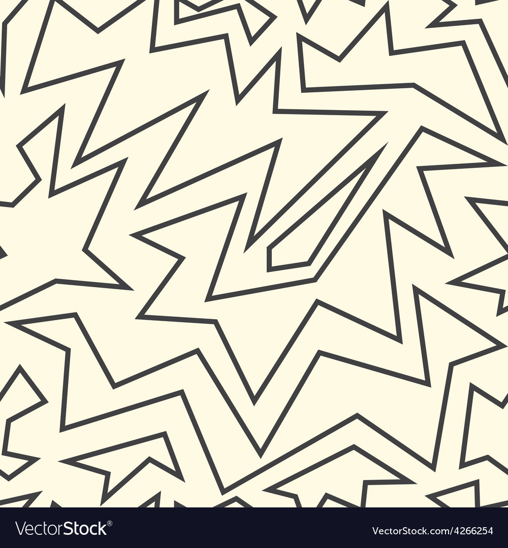 Monochrome ancient seamless pattern vector | Price: 1 Credit (USD $1)