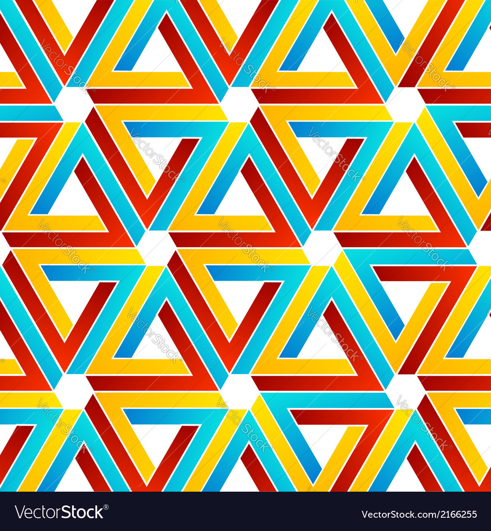 Background with pen rose triangles vector | Price: 1 Credit (USD $1)
