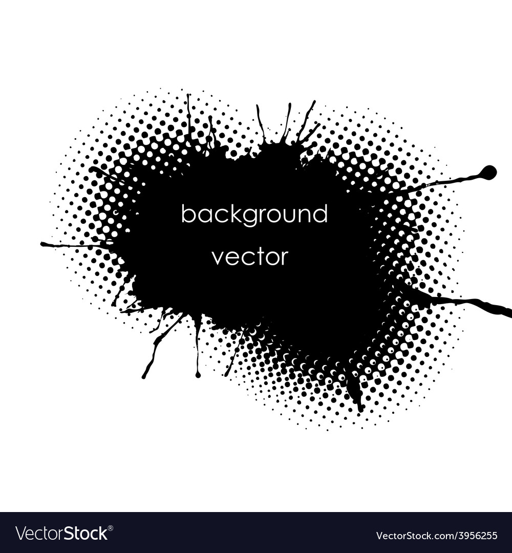 Grunge spot background for inscriptions vector | Price: 1 Credit (USD $1)