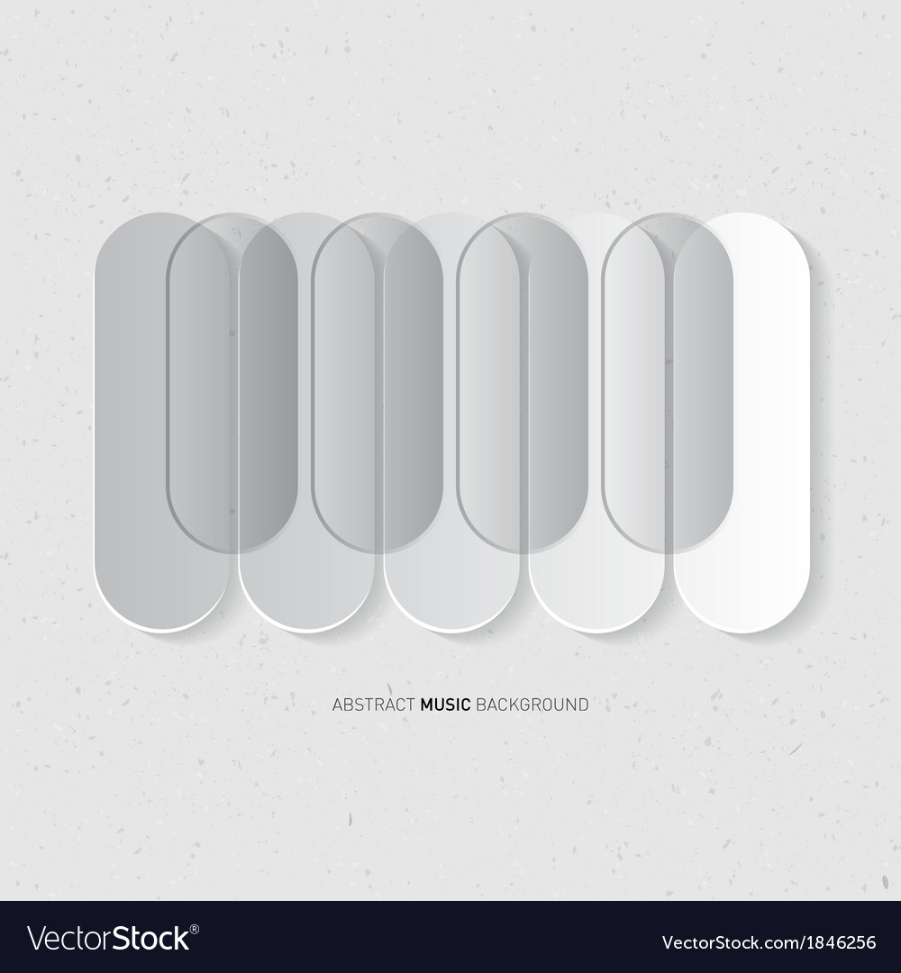 Abstract music grey background piano keyboard on vector | Price: 1 Credit (USD $1)