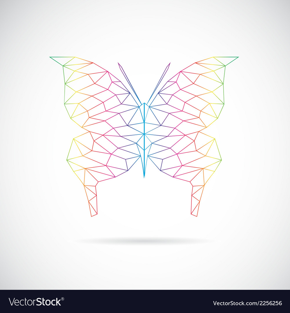 Butterfly abstract vector | Price: 1 Credit (USD $1)