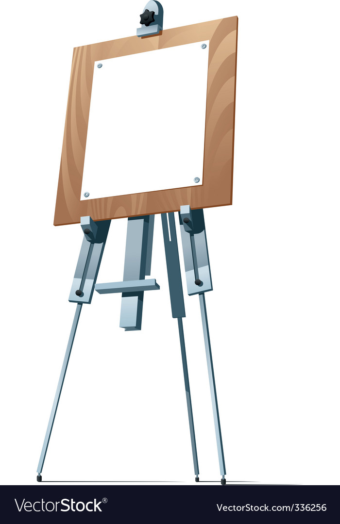 Easel vector   Price: 1 Credit (USD $1)
