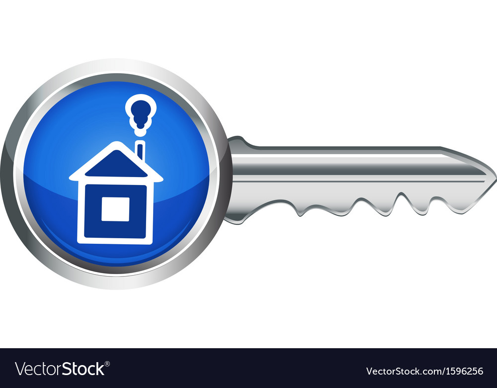 House key vector | Price: 1 Credit (USD $1)