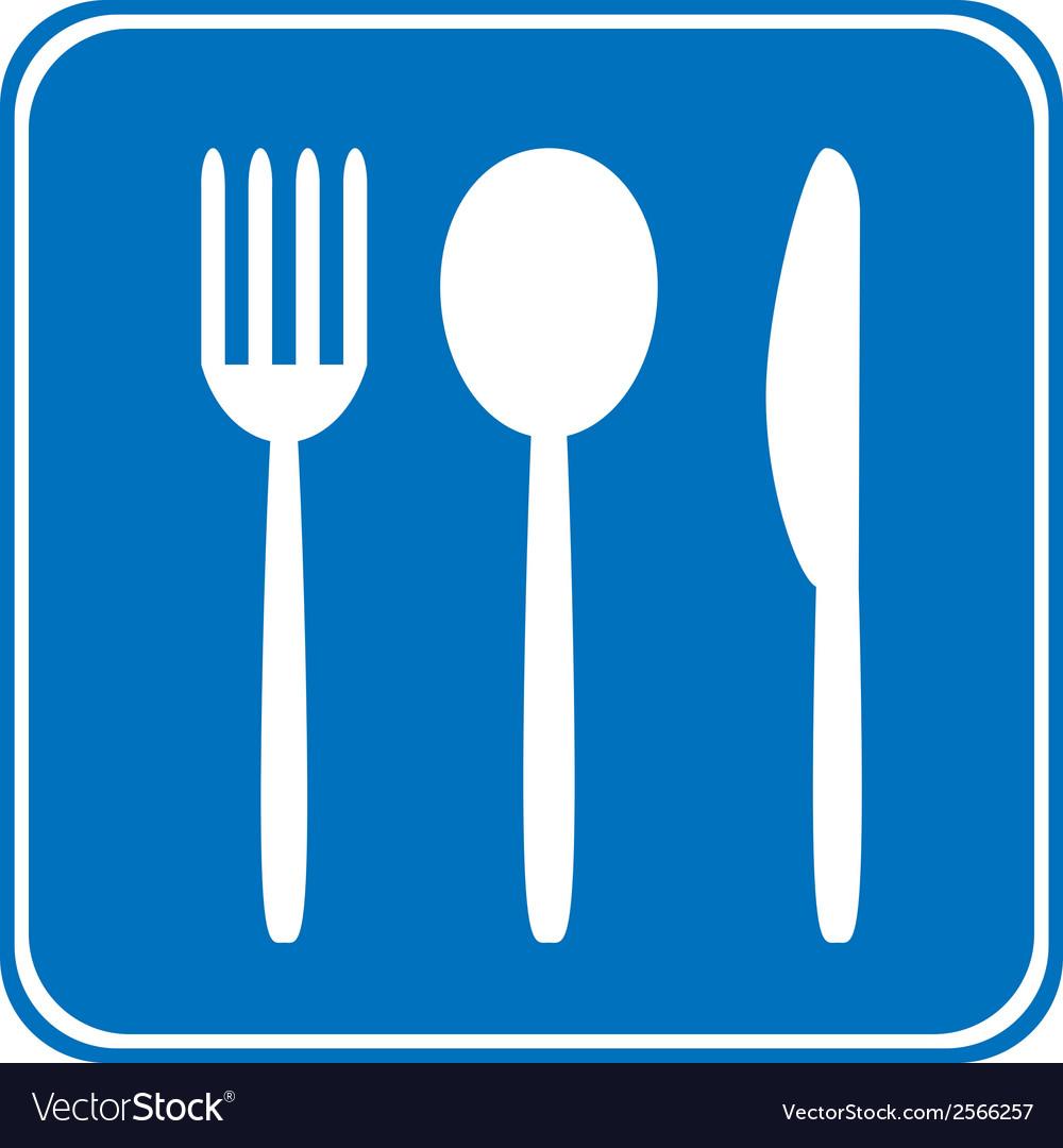 Food item road sign vector   Price: 1 Credit (USD $1)