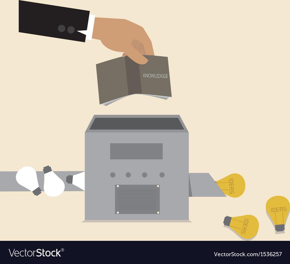 Idea machine vector | Price: 3 Credit (USD $3)