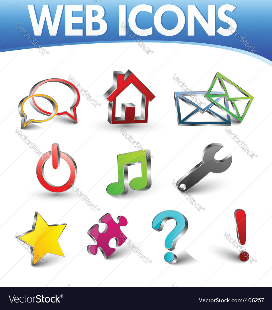 Web icons 1 vector | Price: 1 Credit (USD $1)