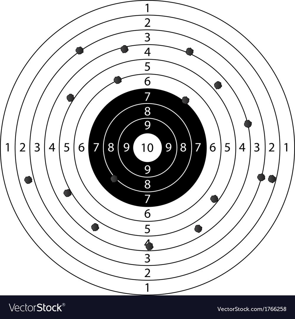 Target sport vector | Price: 1 Credit (USD $1)