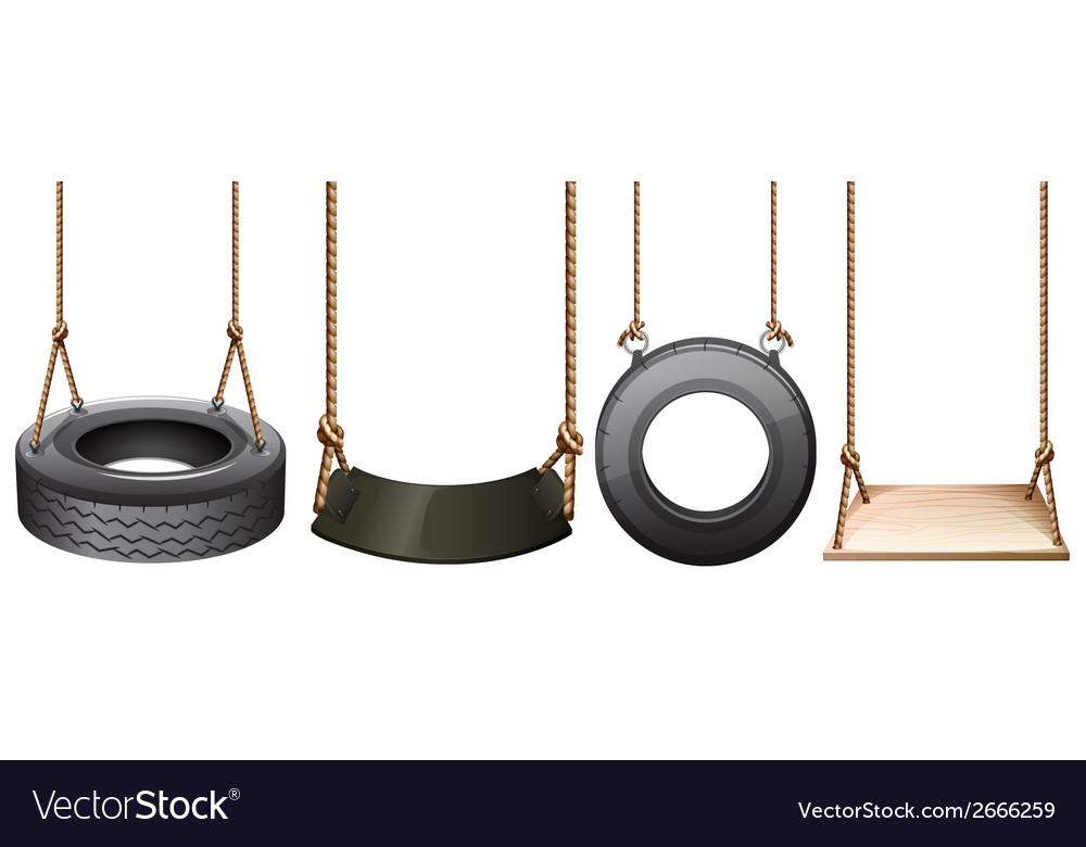Different swings vector | Price: 1 Credit (USD $1)