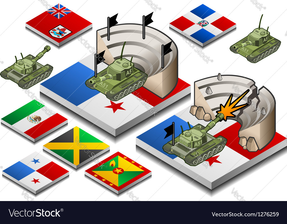 War in the world vector | Price: 1 Credit (USD $1)
