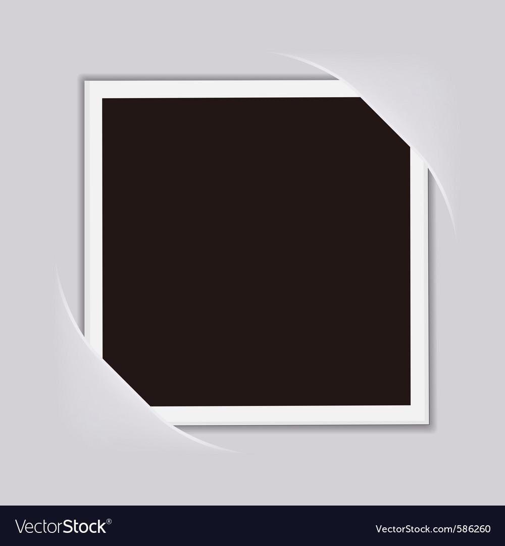 Blank photo frame vector | Price: 1 Credit (USD $1)
