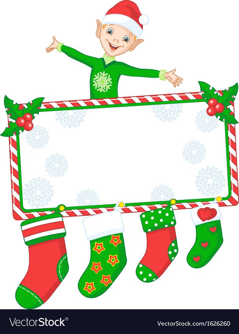 Christmas elf vector | Price: 1 Credit (USD $1)