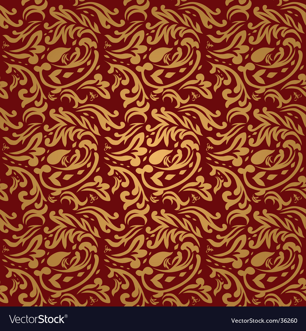 Floral maroon vector | Price: 1 Credit (USD $1)