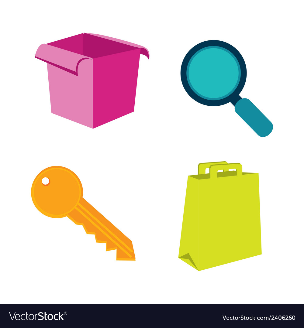 Real estate e-commerce vector | Price: 1 Credit (USD $1)