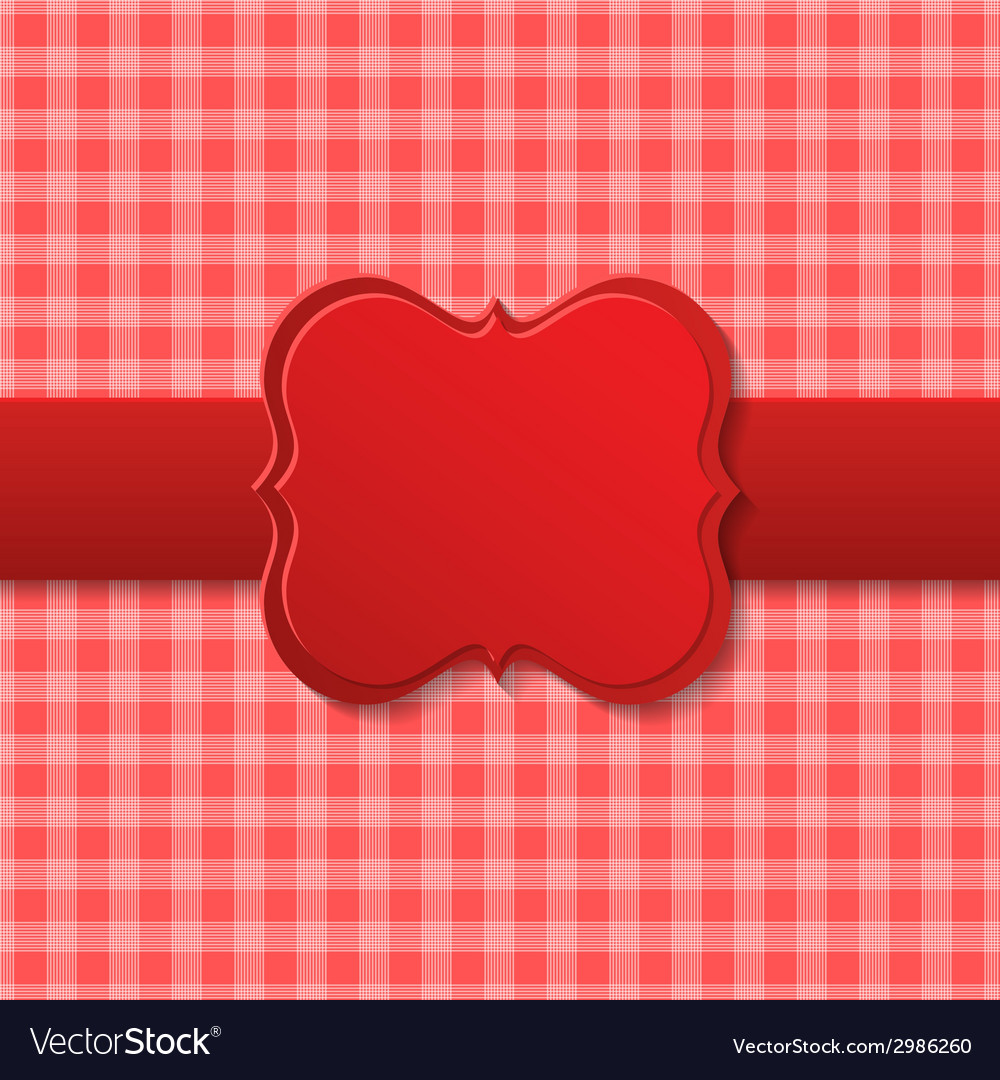 Red holiday paper design vector | Price: 1 Credit (USD $1)