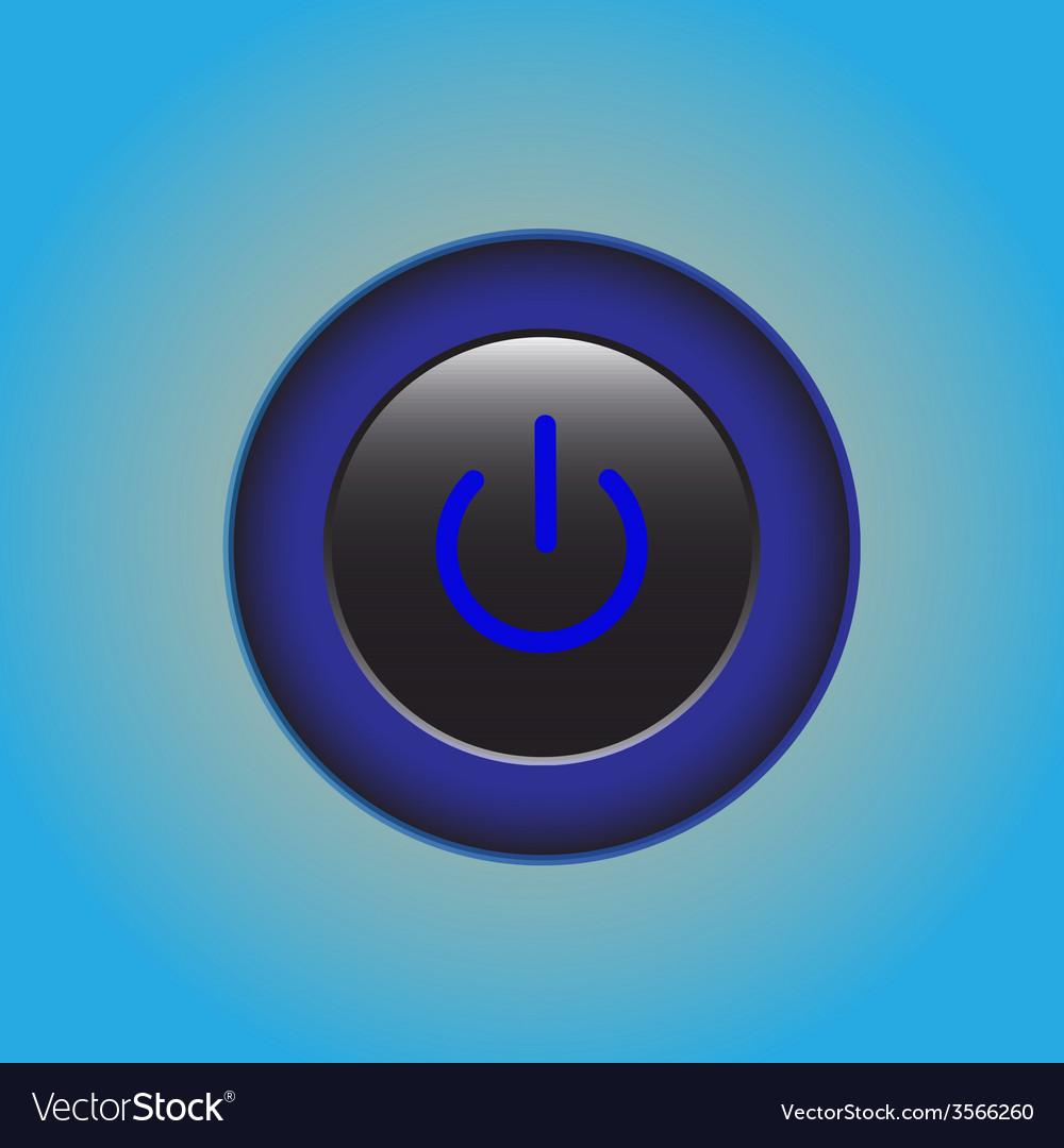 Start power button design vector | Price: 1 Credit (USD $1)