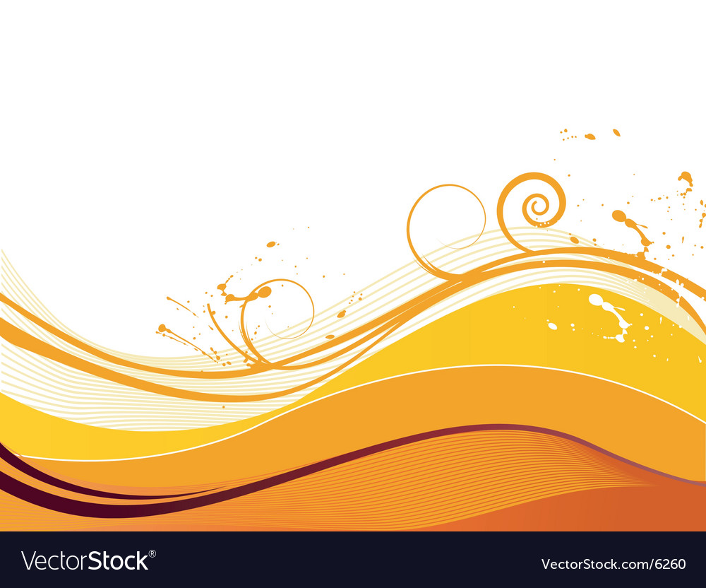Wave graphic vector | Price: 1 Credit (USD $1)