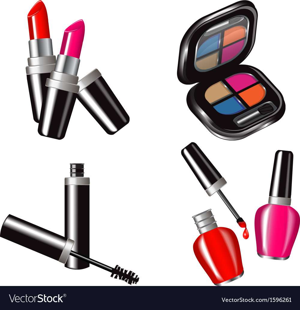 Cosmetic set vector | Price: 1 Credit (USD $1)