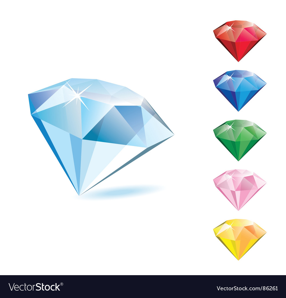 Diamonds vector