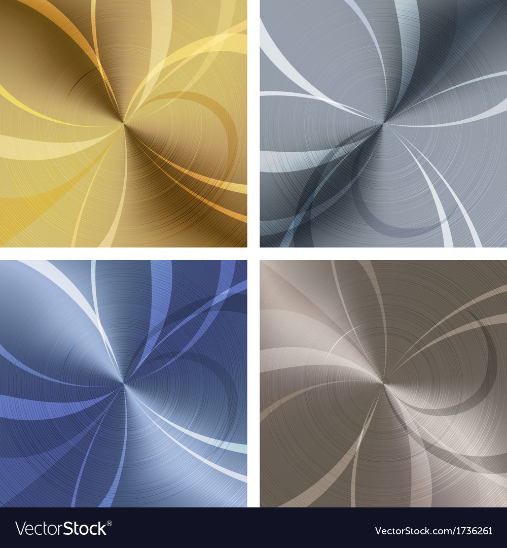 Metallic texture set vector | Price: 1 Credit (USD $1)
