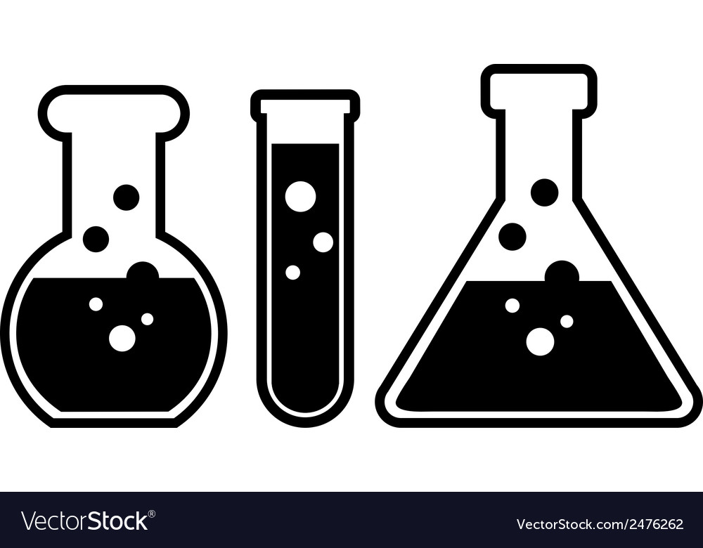 Laboratory glass vector | Price: 1 Credit (USD $1)