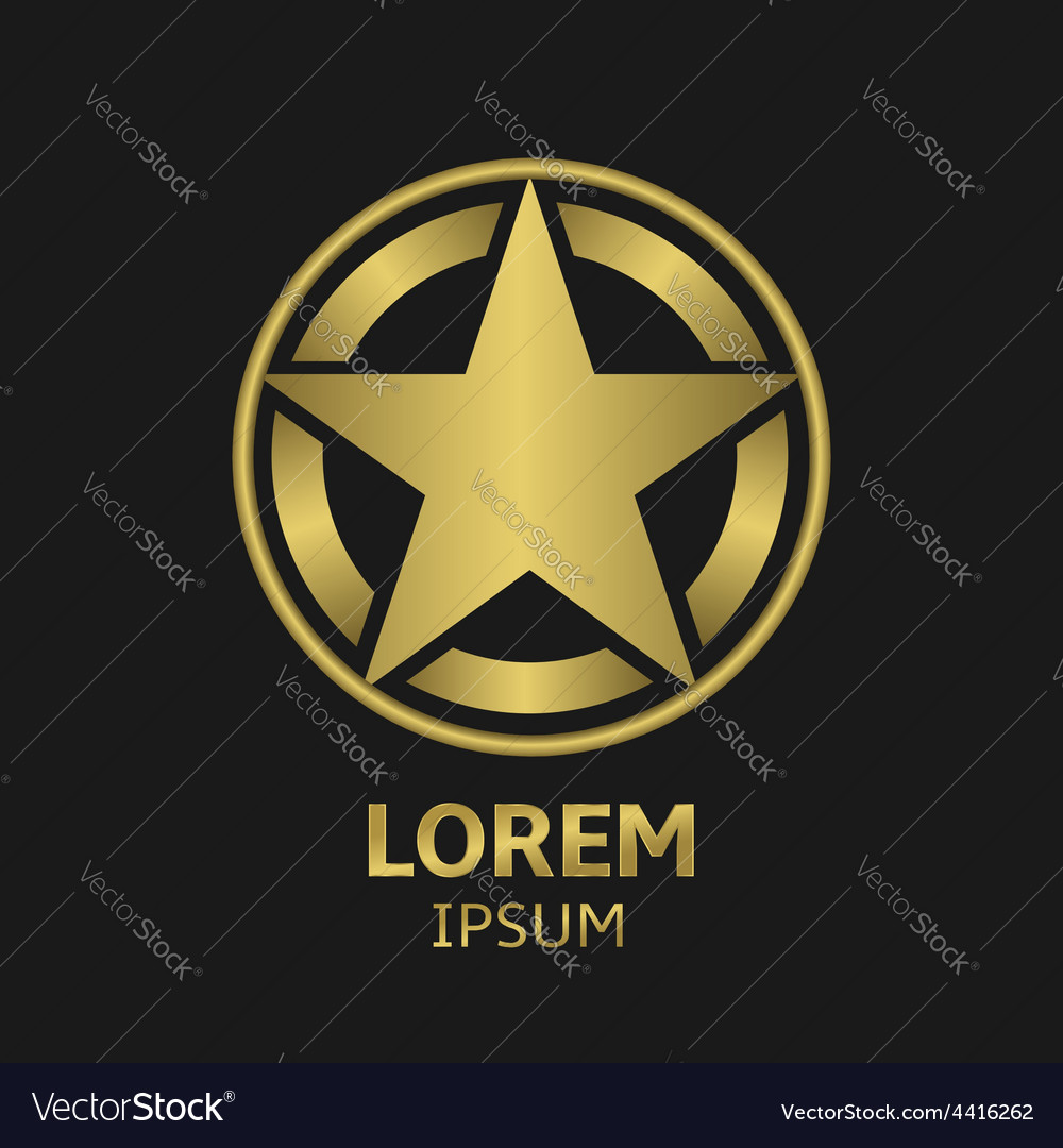 Star logo vector | Price: 1 Credit (USD $1)