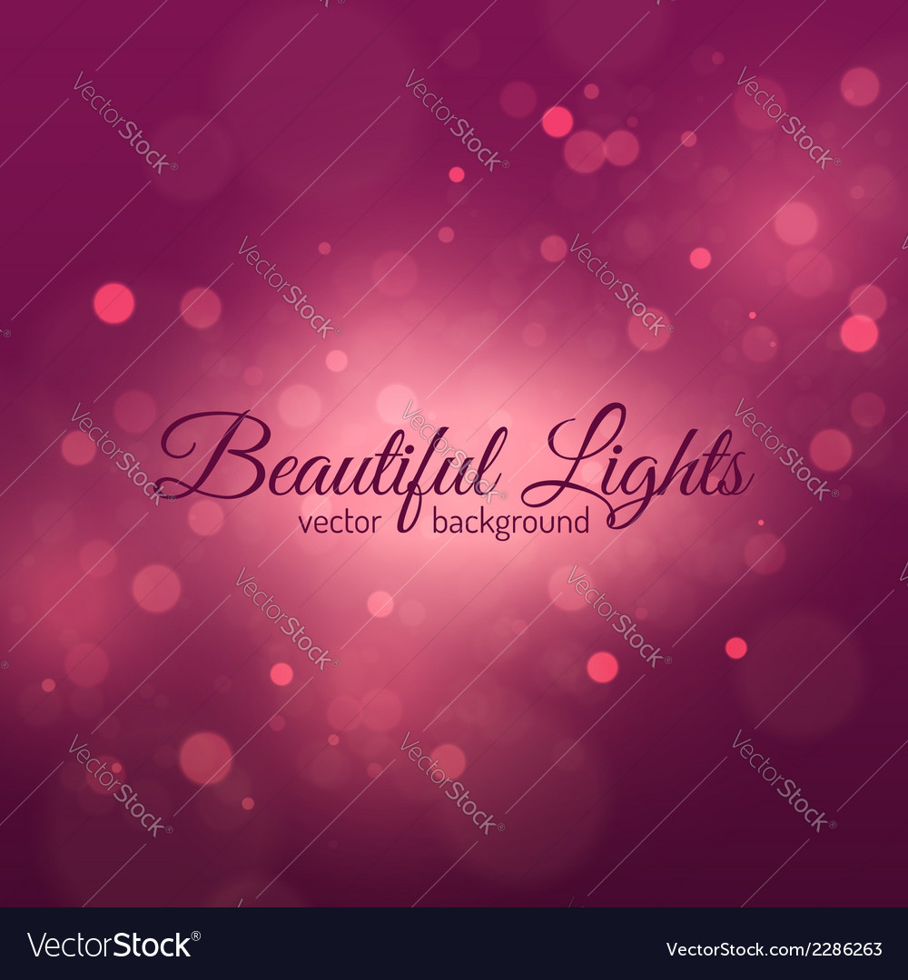 Bokeh light vintage background vector | Price: 1 Credit (USD $1)
