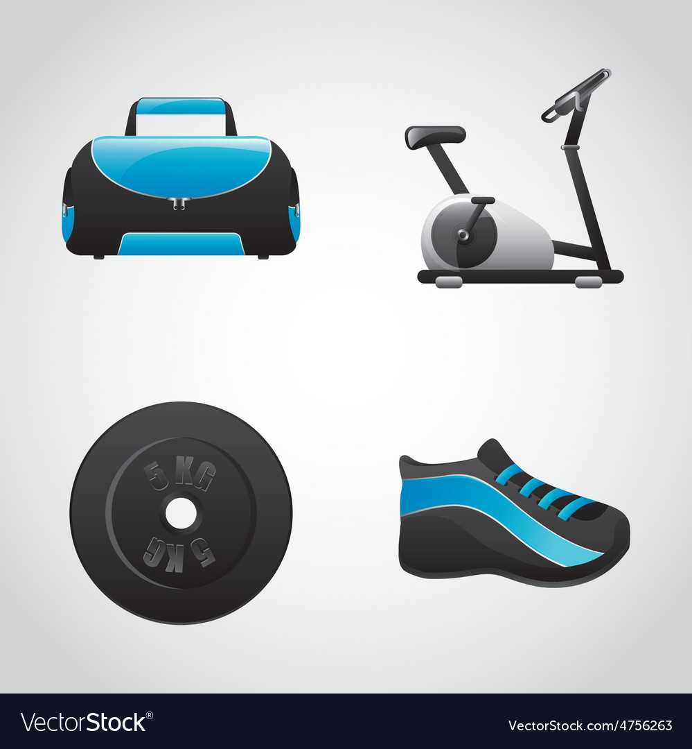 Gym icon vector | Price: 1 Credit (USD $1)