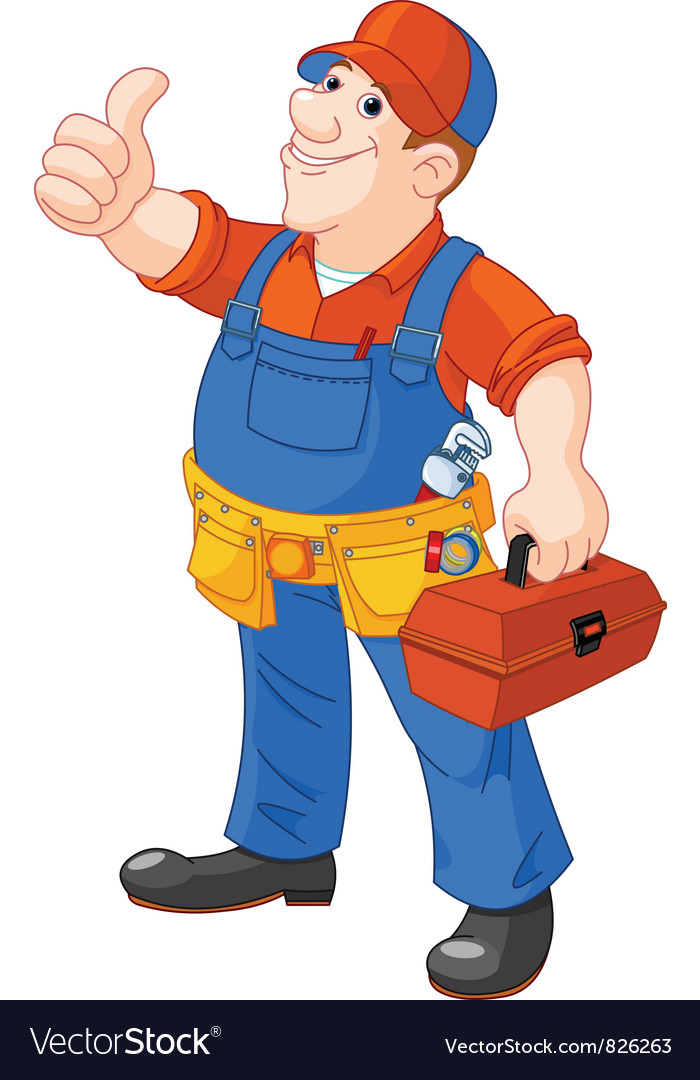 Plumber vector | Price: 3 Credit (USD $3)