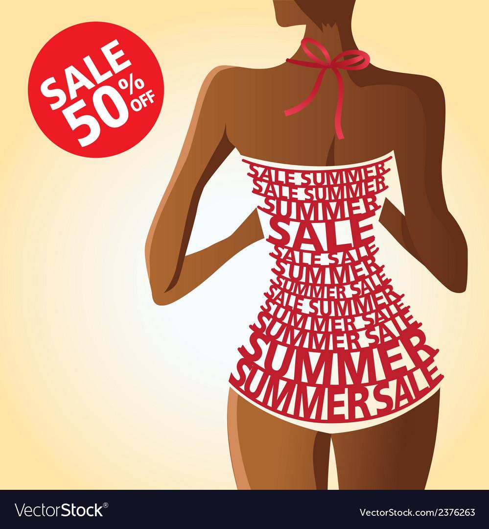 Swimming suit 01 vector | Price: 1 Credit (USD $1)