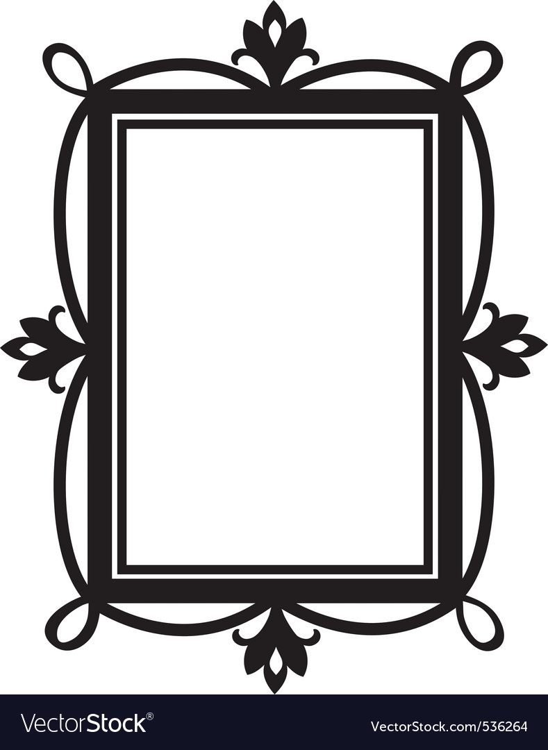 Cute doodle frame element for design vector | Price: 1 Credit (USD $1)