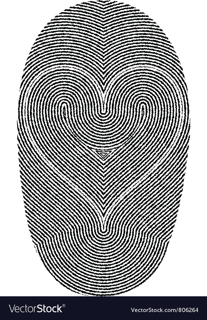 Fingerprints and heart vector   Price: 1 Credit (USD $1)
