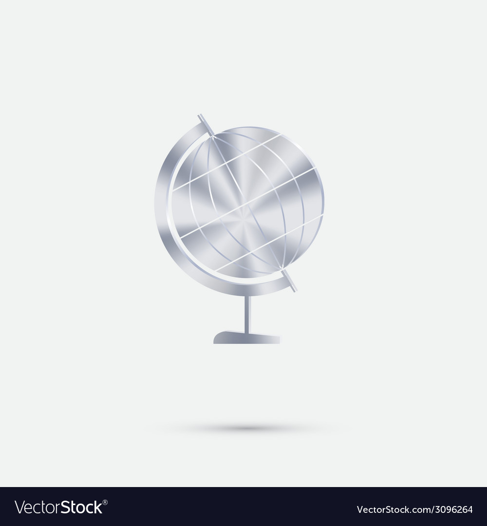 Globe vector | Price: 1 Credit (USD $1)