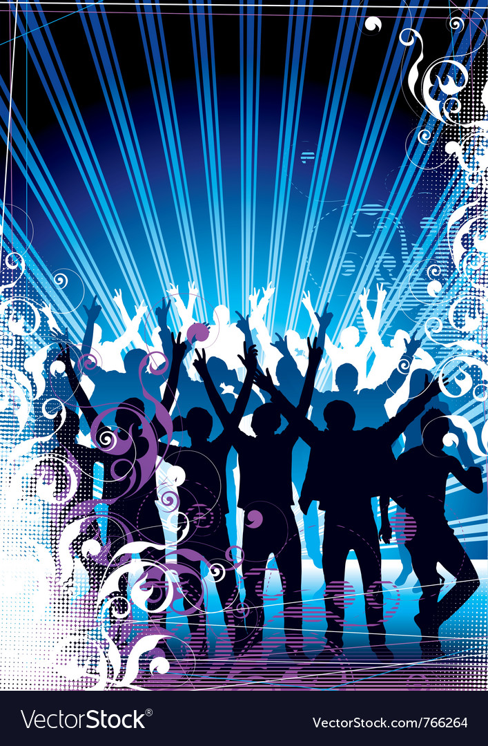 Party in the city vector | Price: 1 Credit (USD $1)