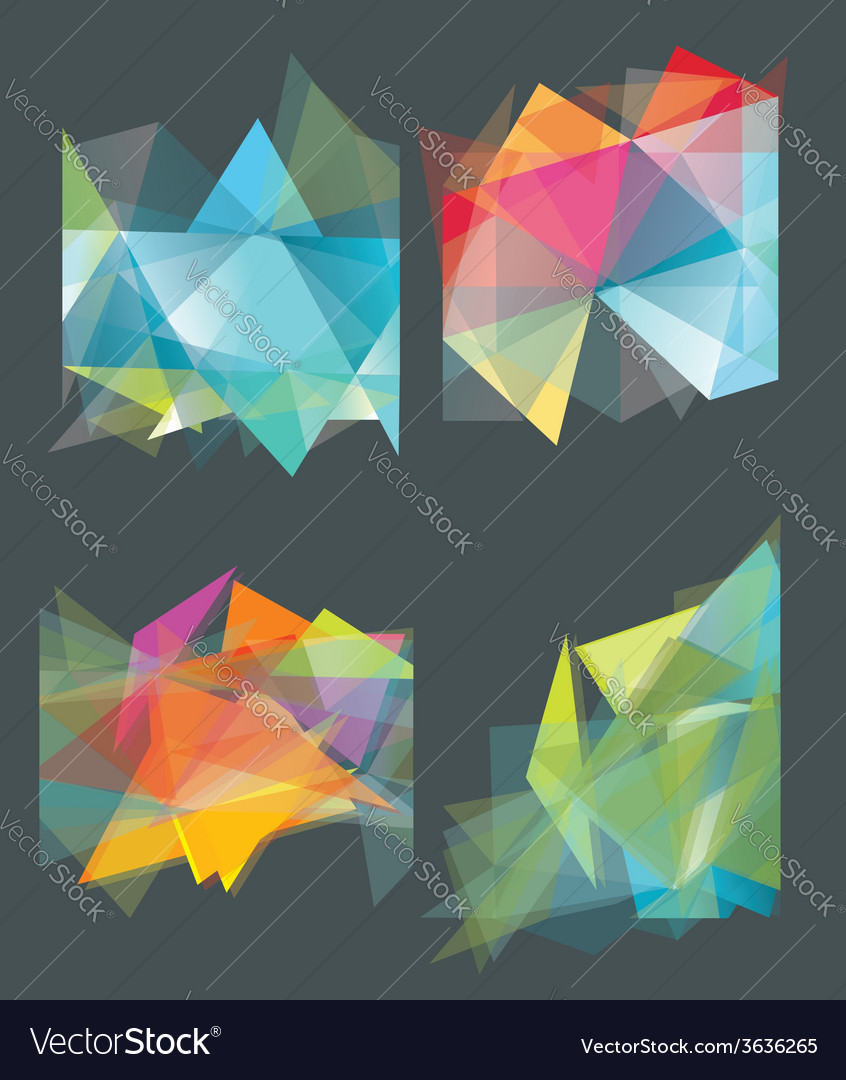 Abstract geometric background for use in design vector | Price: 1 Credit (USD $1)