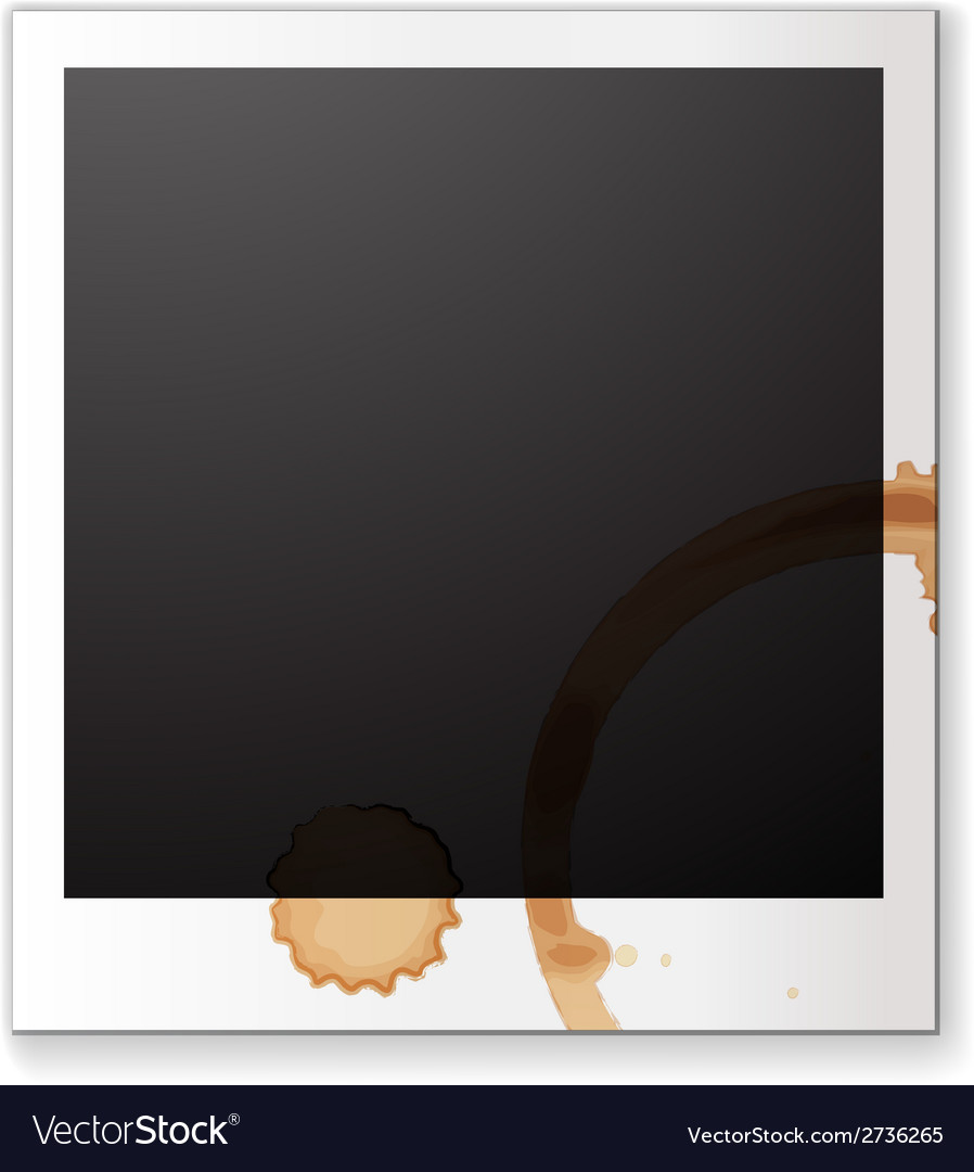 Blank photograph vector | Price: 1 Credit (USD $1)