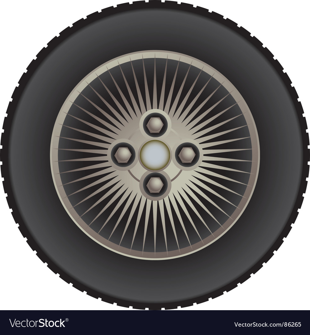 Car mag wheel vector | Price: 1 Credit (USD $1)