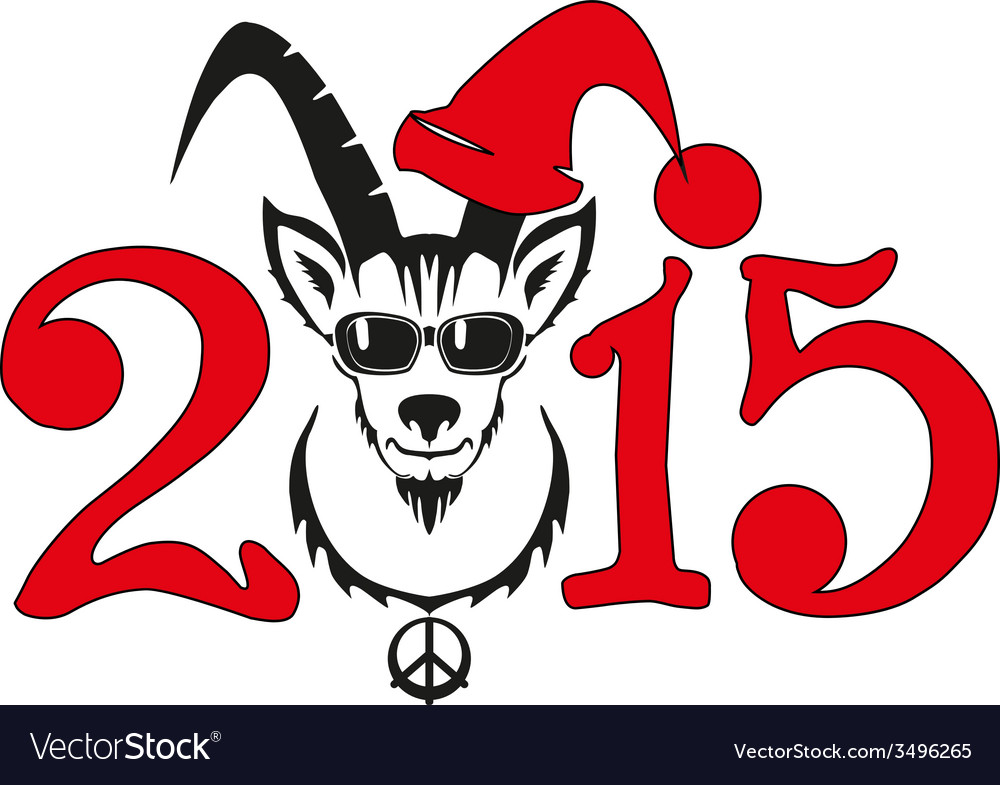 Chinese symbol goat 2015 year vector   Price: 1 Credit (USD $1)