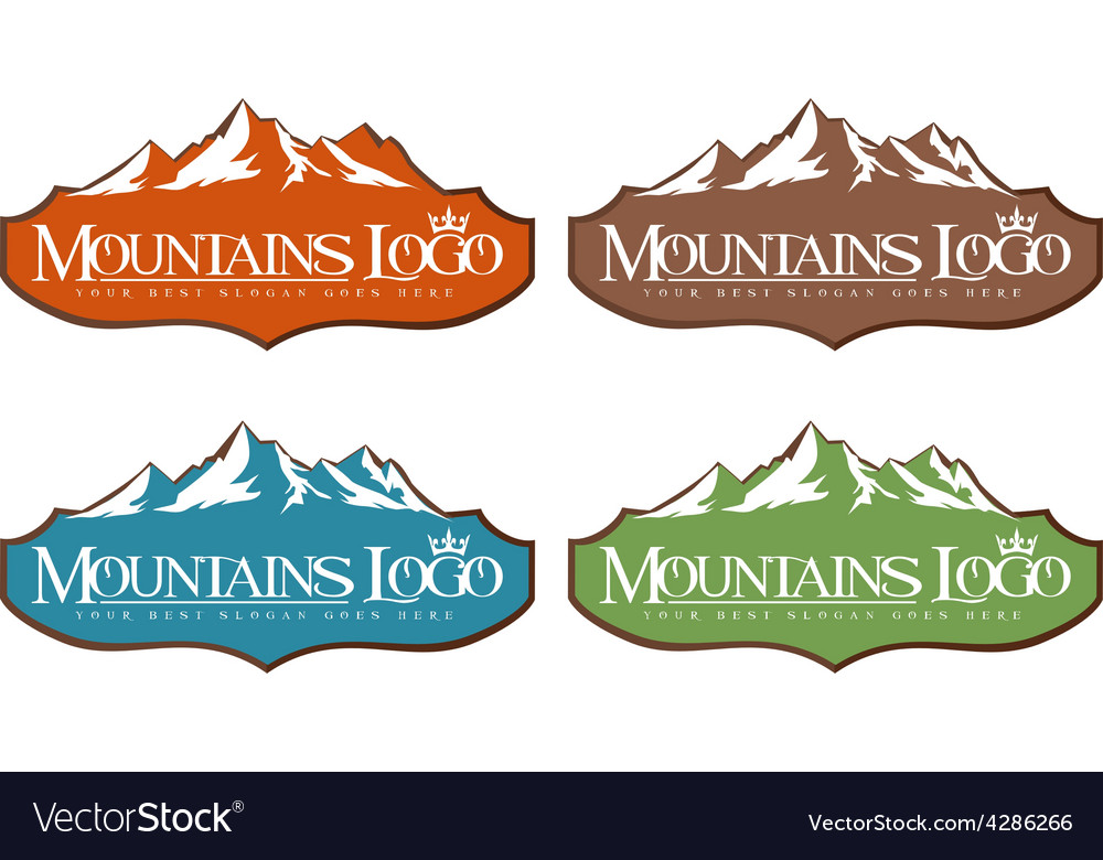 Mountain design creative vector | Price: 1 Credit (USD $1)