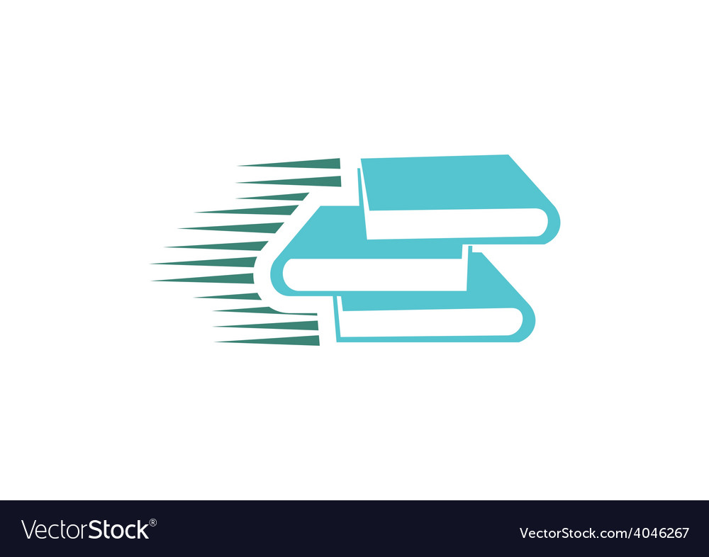 Book e book logo vector | Price: 1 Credit (USD $1)