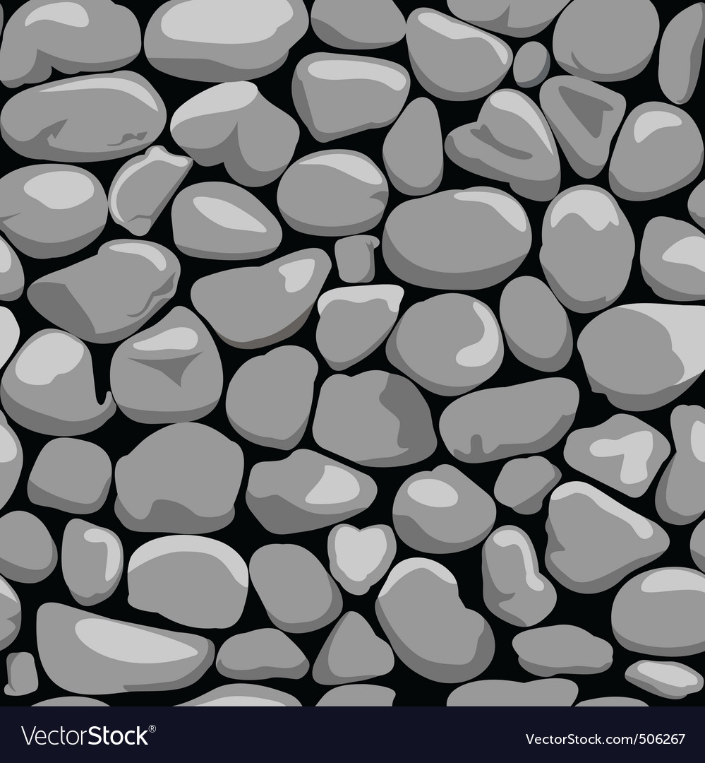 Decorative stone wall vector | Price: 1 Credit (USD $1)