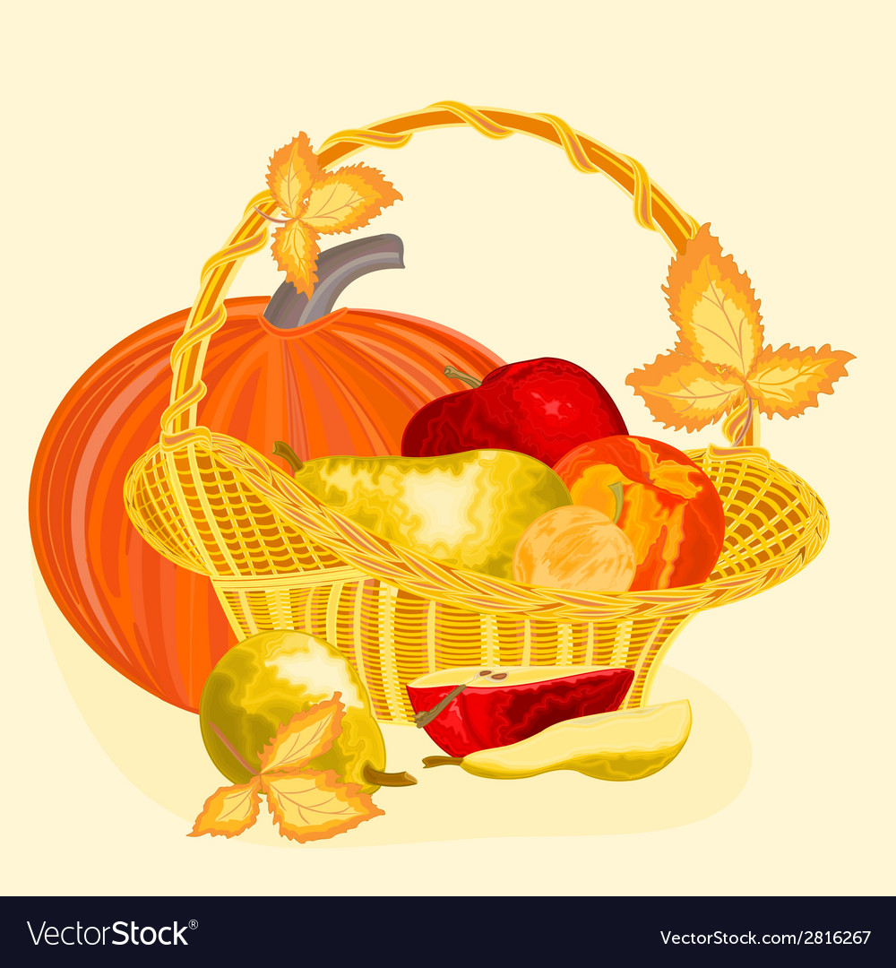 Fruits celebratory christmas thanksgiving celebra vector | Price: 1 Credit (USD $1)
