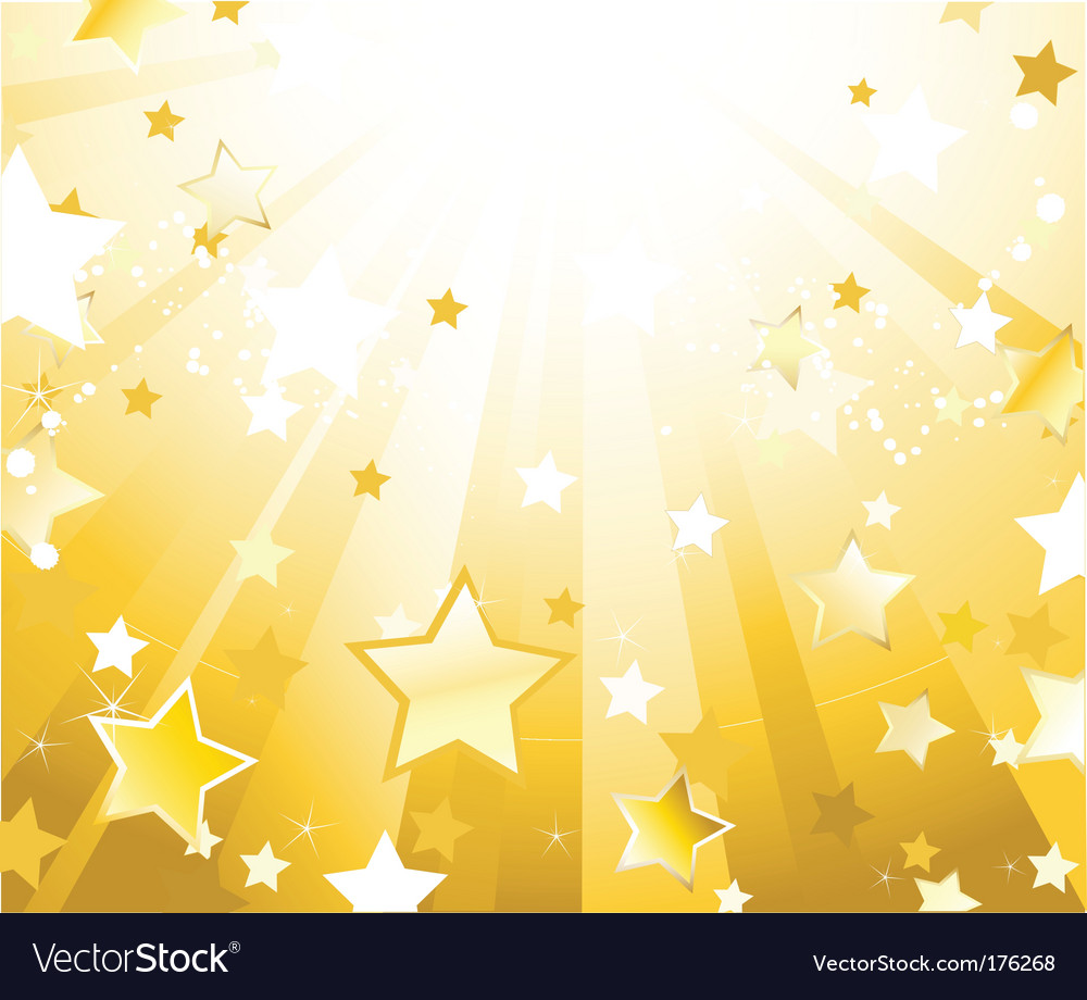 Abstract stars background vector | Price: 1 Credit (USD $1)