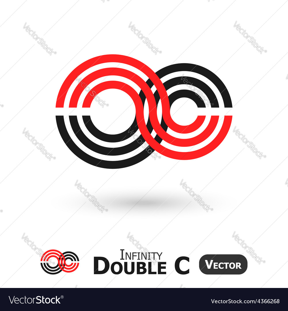 Double c infinity vector | Price: 1 Credit (USD $1)