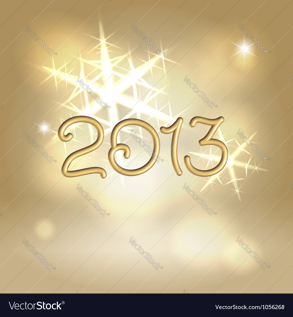 New year greetings postcard concept vector | Price:  Credit (USD $)