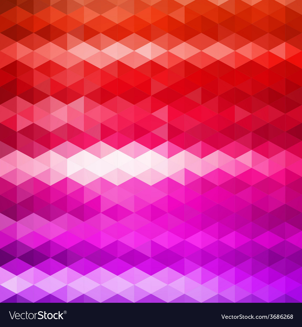 Pattern of geometric shapes triangle mosaic vector   Price: 1 Credit (USD $1)
