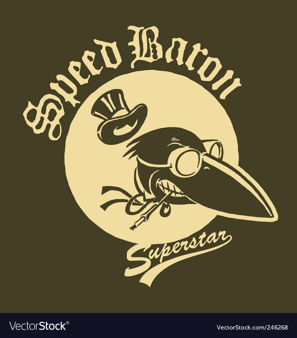 Speed baron vector | Price: 1 Credit (USD $1)