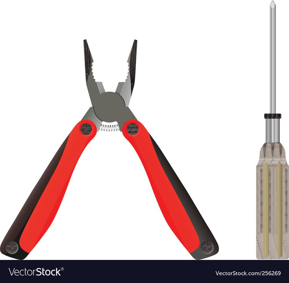 Carpenter's tools vector | Price: 1 Credit (USD $1)